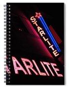 Starlite Hotel Art Deco District Miami 3 Spiral Notebook