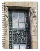 Art Deco Window Spiral Notebook
