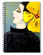 Yellow Bow Spiral Notebook