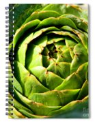 Art E. Choke - Artichokes By Diana Sainz Spiral Notebook
