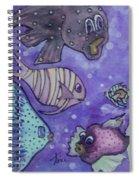Fish Art Spiral Notebook