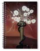 Flowers Art Spiral Notebook