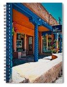 Art Gallery In Taos Spiral Notebook