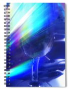 Art Glass Spiral Notebook