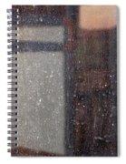 Art Homage Edvard Munch Casa Grande Arizona 2004 Spiral Notebook