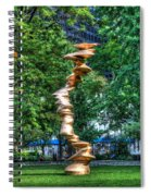 Art In The Park Spiral Notebook
