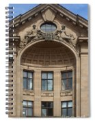 Art Nouveau In Riga 26 Spiral Notebook