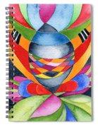 Art Nouveau Shaman Spiral Notebook