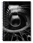 Art Nouveau Staircase Spiral Notebook