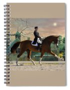 Art Of Dressage Spiral Notebook