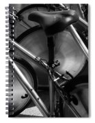 Art Of The Bicycle Spiral Notebook