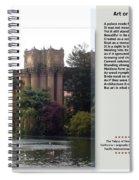 Art Or Architecture? Spiral Notebook
