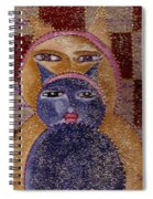 Art Picasso Cats Spiral Notebook
