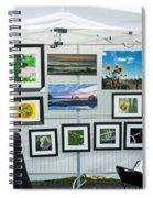 Art Tent Spiral Notebook