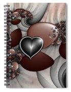 Art With Heart Spiral Notebook