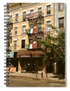 Arthur Avenue In The Bronx Spiral Notebook
