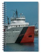 Arthur M Anderson Spiral Notebook