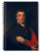 Arthur Wellesley, Duke Of Wellington Spiral Notebook