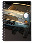 Arthur's Flying Ford Anglia Spiral Notebook