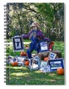 Artie Scarecrow Spiral Notebook