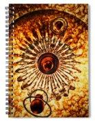 Artificial Galaxy Spiral Notebook