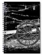Artillery At Gettysburg Spiral Notebook