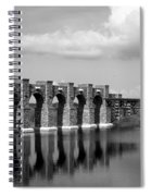 Artisan Lakes Bridge 1bw Spiral Notebook