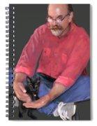Artist At Play Spiral Notebook