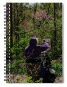 Artist At Work Spiral Notebook