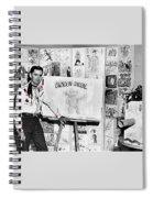 Artist Chuck Amesbury Aka Chuck Waggin Cartoon Corral Kvoa Tv Circa 1962-2013 Spiral Notebook