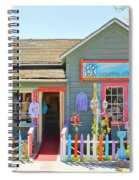 Artist Gallery In Cambria California  7142 Spiral Notebook