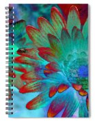 Artistic Flowers Spiral Notebook