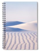 Artistry In The Sand Spiral Notebook