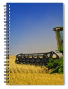 Artists Choice Two Combine Harvesters Spiral Notebook
