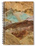 Artist's Paint Palette Abstract Spiral Notebook
