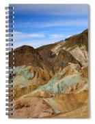 Artists Palette Death Valley National Park Spiral Notebook