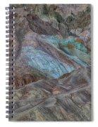 Artists Pallet Death Valley Ca Img 0448 Spiral Notebook