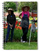 Artists Posing For Papparazzi II Spiral Notebook