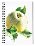 Artz Vitamins Series A Happy Green Apple Spiral Notebook