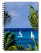 Arubian Sails Spiral Notebook