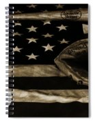As American As Apple Pie Spiral Notebook