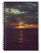 As Day Turns Into Night Spiral Notebook