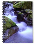 As If Heaven Was A Calmly Place Spiral Notebook