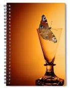 As Light As A Butterfly Spiral Notebook