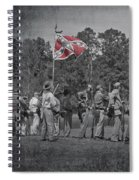As The Flag Waves Spiral Notebook