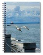 As The Seagull Flies Spiral Notebook