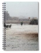 As The Snow Falls Spiral Notebook