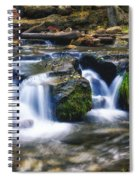 As The Water Flows  Spiral Notebook