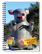 Asbestos Kills Spiral Notebook