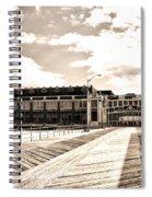 Asbury Park Boardwalk And Convention Center Spiral Notebook